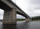Обследование мостового сооружения (неэксплуатируемого автомобильного моста через р. Волхов) в створе ул. Парковая